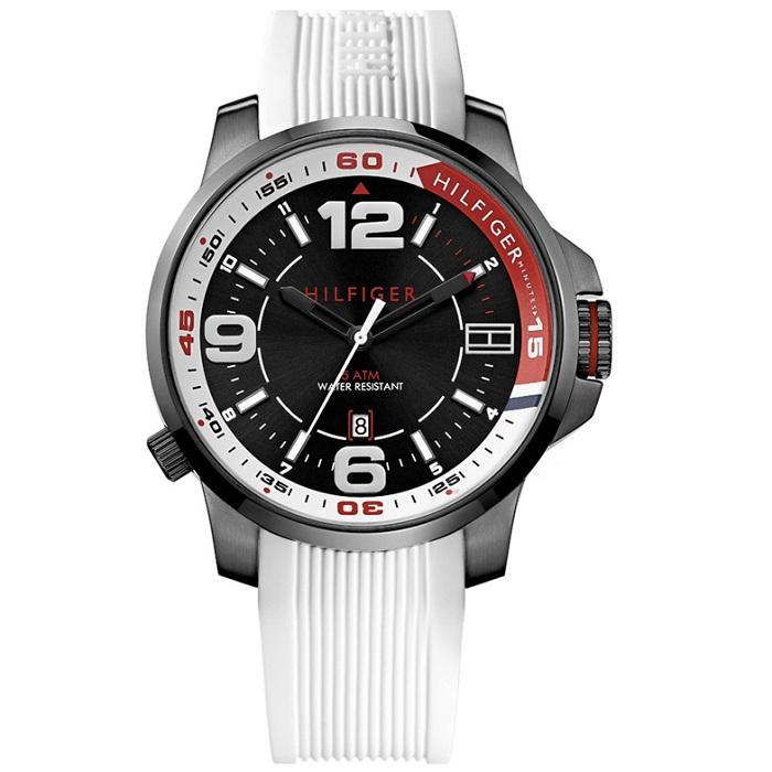 Ρολόι ανδρικό Tommy Hilfiger Sports 1791009 με Rubber και μαύρο καντράν 8cfaccb4067