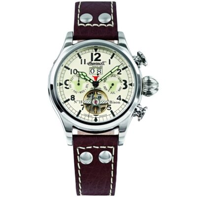 ingersoll-bison no18-automatic-watch-adriko-louri-open-IN4506WHGR