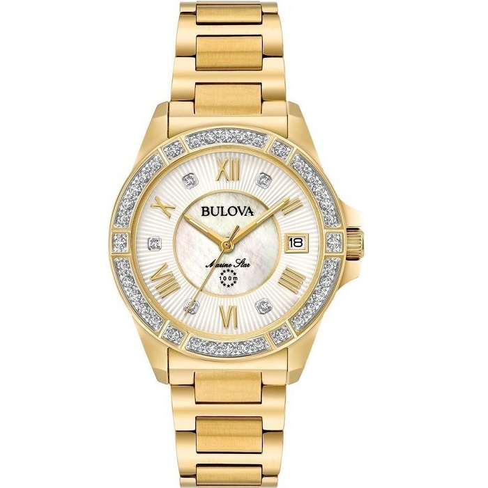 bulova diamond marine star 98r235