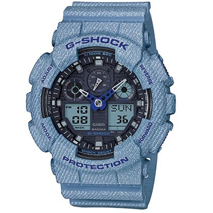 casio g-shock ga-100de-2aer