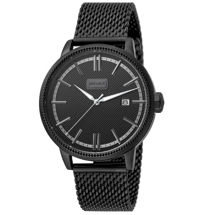 Ρολόι ανδρικό Just Cavalli JC1G018M0065 Relaxed με μπρασελέ και μαύρο  καντράν 437891a49c4