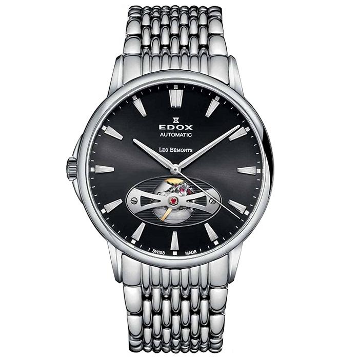 edox-man-watch-les bemonts-automatic-opem-mprasele-85021-3M-NIN