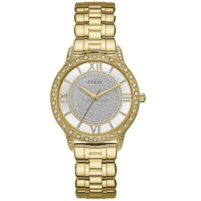 guess-watch-ginaikeio-ethereal-fashion-mprasele-xruso-zirgkon-W1013L2