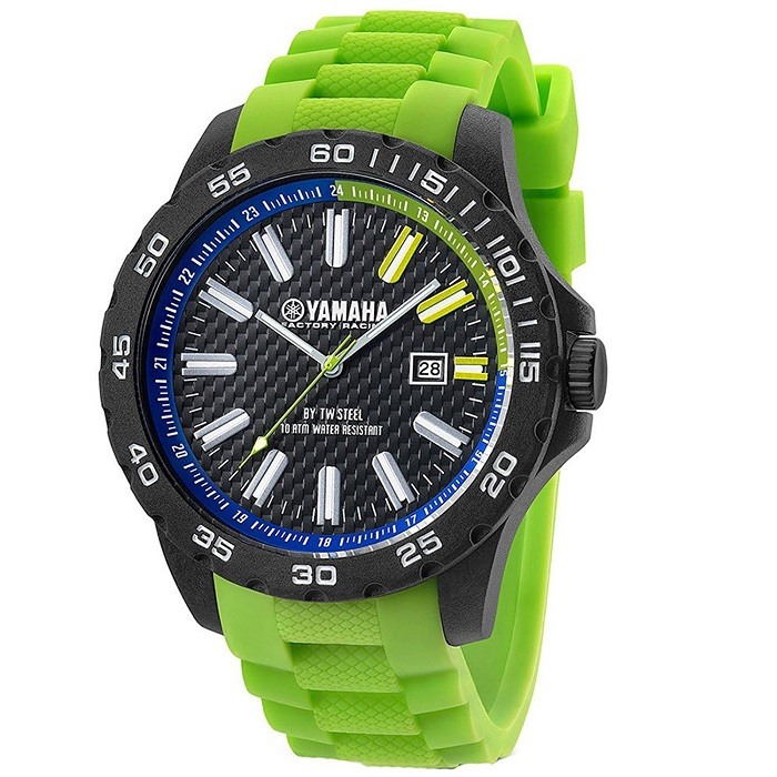 TW-Steel-Yamaha-Y10-watch-adriko-sport-rubber-prasino