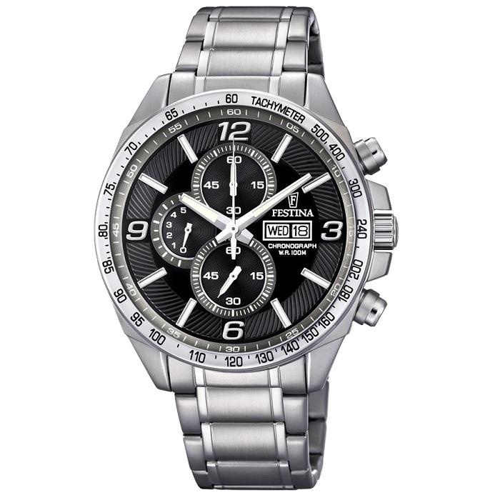festina f6861-4 chronograph