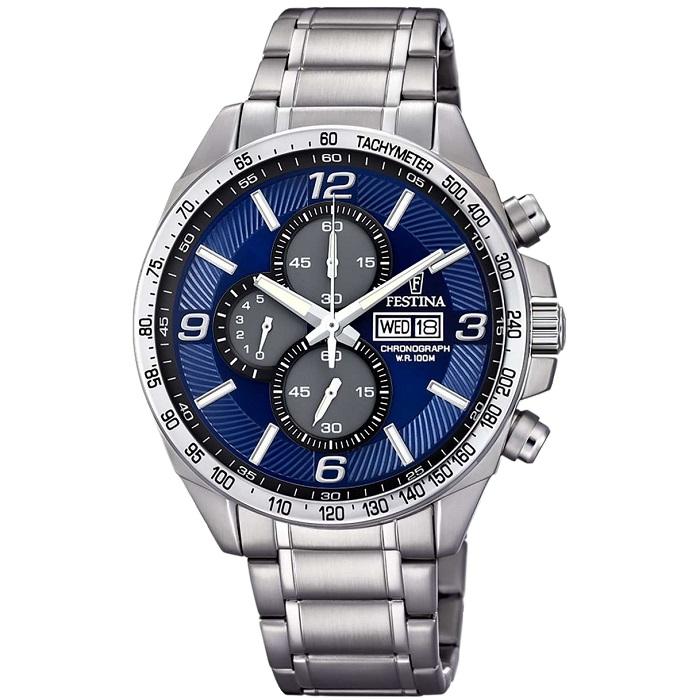 festina f6861-3 chronograph