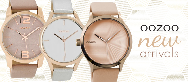 oozoo watches banner