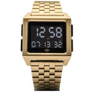 Ρολόι ανδρικό Adidas Archive M1 Z01-513-00 με μπρασελέ και ψηφιακό καντράν 24f7442aa42